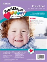 HeartShaper Preschool Teacher's Convenience Kit, Winter 2013