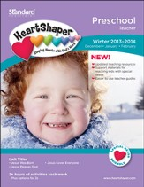 HeartShaper Preschool Teacher, Winter 2013
