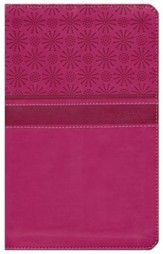 NIrV Gift Bible, Duo-Tone Hot Pink