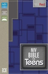NIV Bible for Teens, Blue