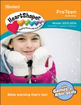 HeartShaper PreTeen Activities, Winter 2013