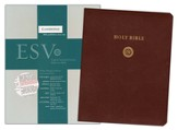 ESV Wide-Margin Reference Bible, Brown Bonded Leather