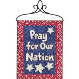 Pray For Our Nation Bannerette