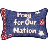 Pray For Our Nation Pillow