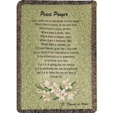 Peace Prayer Throw