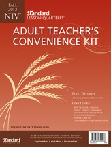 Standard Lesson Quarterly NIV Adult Teacher's Convenience Kit, Fall 2013