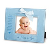 A Child of God Photo Frame, Blue
