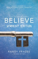 Believe Student Edition NIV Bible