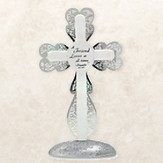 A Friend Loves at All Times Standing Cross