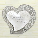Grandmothers Are Blessing Standing Heart Plaque