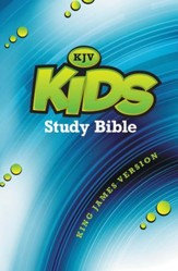 King James Version Kids Study Bible, Hardcover