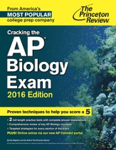 Cracking the AP Biology Exam, 2016 Edition - eBook