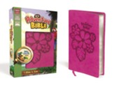 NKJV Adventure Bible, Italian Duo-Tone, Raspberry - Imperfectly Imprinted Bibles