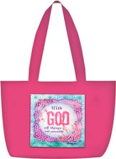 With God Tote