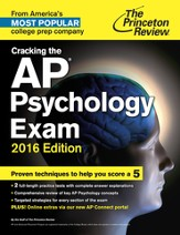 Cracking the AP Psychology Exam, 2016 Edition - eBook