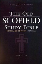 Authorized King James Version: The Old Scofield Study Bible, Hardcover - Slightly Imperfect