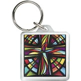 Glory To God Keyring