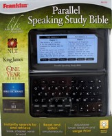 KJV/NLT Parallel Speaking Study Bible with Tyndale Bible Dictionary