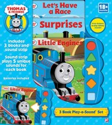 Thomas & Friends: 3-Book Play-A-Sound Set - Slightly Imperfect