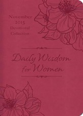 Daily Wisdom for Women 2015 Devotional Collection - November - eBook