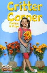 Critter Corner Posters and Props, Pre-K-Kindergarten (Ages 3-6)