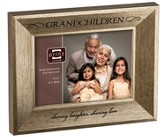 Grandchildren, Sharing Laughter, Sharing Love Photo Frame