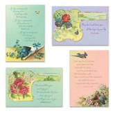 Victorian Blessings Birthday Cards, Box of 12