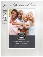 Family a Lifetime of Love Photo Frame