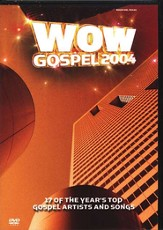 WOW Gospel 2004, DVD