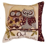 Owl Love You To the Moon and Back Pillow