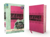 NIV Bible for Teen Girls--soft leather-look, pink - Imperfectly Imprinted Bibles