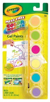 Color Wonder Gel Paints, Tropical Colors