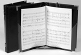 Premium Choral Folder 7-3/4 X 11 Elastic Stays