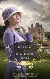 A Refuge at Highland Hall: A Novel - eBook