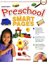 Preschool Smart Pages--Book and CD-ROM  - Slightly Imperfect
