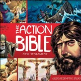 The Action Bible New Testament: God's Redemptive Story Unabridged Audiobook on CD