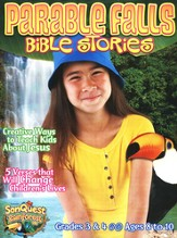 Parable Falls Bible Stories, Grades 3 and 4, Ages 8 to 10