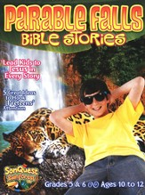 Parable Falls Bible Stories, Grades 5 and 6, Ages 10 to 12