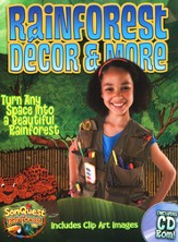 Rainforest Decor & More, with CD