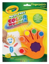 Color Wonder Fingerpaints and Paper Set