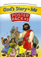 God's Story for Me Poster Pack 2