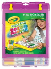 Color Wonder Stow and Go Art Set