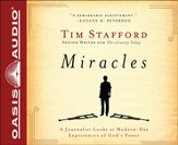 Miracles: A Journalist Looks at Modern Day Experiences of God's Power Unabridged Audiobook on CD