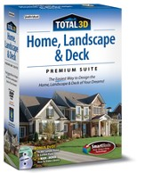 Total 3D Home, Landscape, & Deck Premium Suite 12 CD-ROM