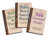 Bible Puzzles: 3-Book Set