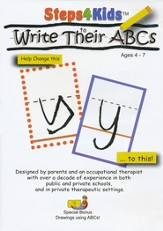 Steps4Kids to Write Their ABCs DVD