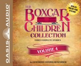 #4: Schoolhouse Mystery, Caboose Mystery, Houseboat Mystery Unabridged Audiobook on CD