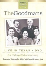 The Happy Goodman Family Live in Texas DVD
