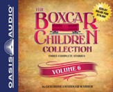 The Boxcar Children Collection Volume 6: Mystery in the Sand, Mystery Behind the Wall, Bus Station Mystery Unabridged Audiobook on CD