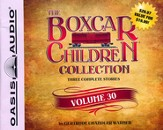The Boxcar Children Collection Volume 30: The Mystery of the Mummy's Curse, The Mystery of the Star Ruby, The Stuffed Bear Mystery Unabridged Audiobook on CD
